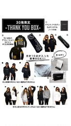 【30箱限定】THANK YOU BOX