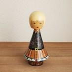 【エストニア】 SALVO ヴィンテージ 木製 人形(大)