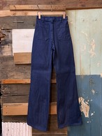 80's usn womens dungaree pants deadstock size/8