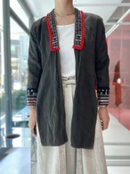 Red Dao  cotton  shirt coat
