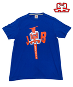 【JTB】NEW BIG LOGO Tシャツ【ブルー】【新作】イタリアンウェア【送料無料】《M&W》