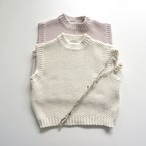 〔即納〕mellow cotton vest