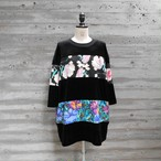 WIDE BORDER VELOR TOPS◆TULIP1
