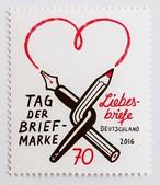 切手の日 / ドイツ 2016