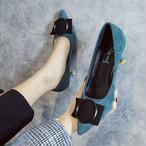 【shoes】配色フェアリー注目の新作洒落感満々パンプス 23828691