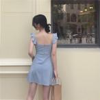 retro sick summer Aline dress 1716