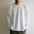 is-ness × armi【 mens 】merino wool pocket t-shirts with box