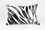 Pillow Bag (plumpillow purse)【Zebra】まくら×ポーチ アウトドア