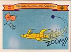 MLBカード 92UPPERDECK Looney Tunes #7