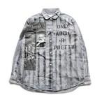 anarchy shirt 089(monochrome)