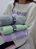 パウダーウールロングT  ウール ロンT 韓国ファッション