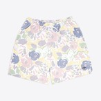 Pastel Floral Rugby Shorts