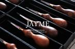 jayme ヘリ落とし 高級天然木ココボロ/切れ味がまた素晴らしい!