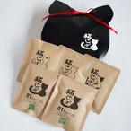 【コーヒーのお土産】ねこ箱(ドリップオンコーヒー5個入)送料込|ギフトにも人気