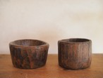 antique small wooden bowl