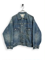 12.5oz Denim Jacket / special wash