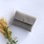 suare card case #stone gray/ スアレカードケース・名刺入れ #ストーングレー