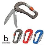 baladeo(バラデオ) Carabiner Cliff bd-040 アウトドア サバイバル キャンプ グッズ カラビナ ナイフ 多機能