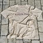 "T-Shirt ""WHITE JAM"" -Beige- (再々販売 9月末〜10月発送予定)"