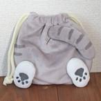 【POMPON HiPS】ぬいぐるみ巾着 (ねこのおしり)【94613】