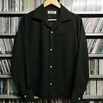 L / S シャツ     ブラック