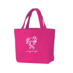 【SOLD OUT】ウーパールーパートートバッグS(こどもデザイナー☆プロジェクト)ホットピンク
