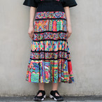 80's Art Pattern Skirt
