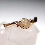ダイアモンド 原石リング ダイア0.70ct