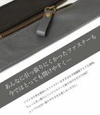 本革ファスナーの引き手 グレー/ブラック3個セット