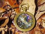 【オルゴナイト】宇宙の欠片を集積した癒しの時計
