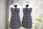 elegant tweed dress