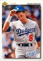 MLBカード 92UPPERDECK Gary Carter #267 DODGERS