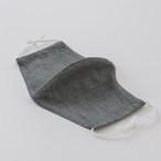 5.橡 - TURUBAMI / ひんやり麻マスク(NEO能登上布 夏用立体ファッションマスク)※限定100枚