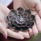 蓮の花びらお線香立て お香立 香枦皿 蓮型 蓮花香皿 ロータス
