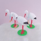 Bobbing Stork 首振りコウノトリ