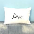 LOVE枕カバー WHITE