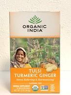 トゥルシージンジャーターメリック(Tulsi Ginger Turmeric)(Tea bags)
