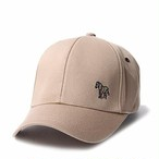 c3d69fd71cf98 ポールスミス Paul Smith ワンポイント刺繍 キャップ 帽子 ベージュ ゼブラ マルチ [国内送料無料