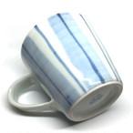 【砥部焼/佐藤窯】マグカップ(ボーダー)