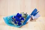 【プレゼントにぴったり】花束/ブルーローズ/バラの花束