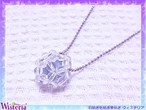 【願い玉】 エンジェライト×水晶 ペンダント
