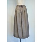 【RehersalL】twill long skirt (light brown)/【リハーズオール】ツイルロングスカート(ライトブラウン)