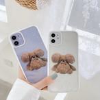 【オーダー商品】 Handstand bear iphone case