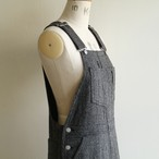 UNION LAUNCH 【 womens 】herringbone overall flare skirt