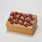 Four leaf clover karakuri puzzle box