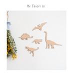 木製 / My Favorite シリーズ  [ 恐竜 ]
