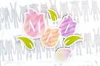 手作り用【ダウンロード版】IRODORIガーランド_4月_tulip