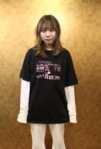オリジナル メルヘソTシャツ XXL黒×ピンク