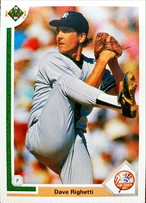 MLBカード 91UPPERDECK Dave Righetti #448 YANKEES