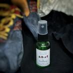 """アロマ ミスト """"Aller!"""" for Bouldering:クライマー を サポートする消臭・除菌・抗菌アロマミスト☆30ml(約150プッシュ)"""